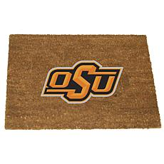 Officially Licensed Colored Logo Door Mat - Oklahoma State