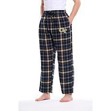Officially Licensed Concepts Sport Men's Flannel Pant - Georgia Tech
