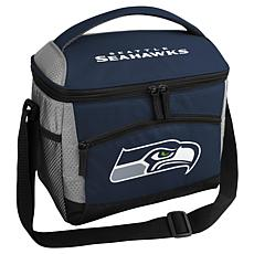 Officially Licensed Cooler Bag/Lunch Box, 12-Can Capacity - Seahawks