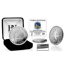 Officially Licensed Golden State Warriors Silver Mint Coin