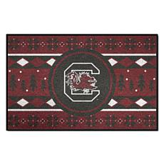 Officially Licensed Holiday Sweater Mat - University of South Carolina