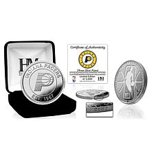 Officially Licensed Indiana Pacers Silver Mint Coin