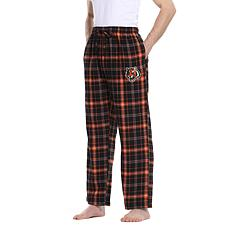 Officially Licensed Men's Plaid Flannel Pant by Concept Sports-Bengals