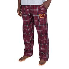 Officially Licensed Men's Plaid Flannel Pant Concept Sports-Washington