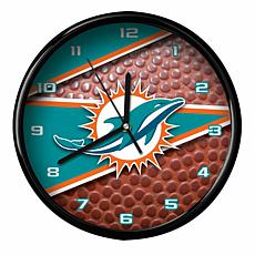 Officially Licensed Miami Dolphins Team Football Clock