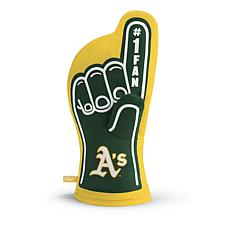 Officially Licensed MLB #1 Oven Mitt - Oakland Athletics