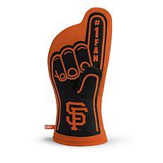 Officially Licensed MLB #1 Oven Mitt - San Francisco Giants