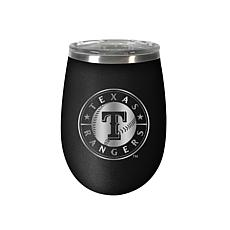 Officially Licensed MLB 12 oz. Stealth Wine Tumbler - Texas Rangers
