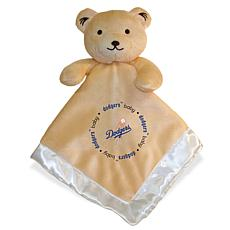 """Officially Licensed MLB 14"""" Snuggle-Bear Blanket - Los Angeles Dodgers"""