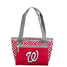 Officially Licensed MLB 16-Can Cooler Tote - Washington Nationals