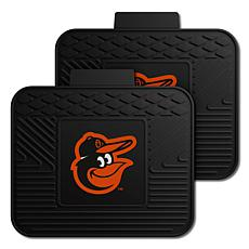 Officially Licensed MLB 2-Piece Utility Mat Set - Baltimore Orioles