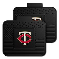 Officially Licensed MLB 2-Piece Utility Mat Set - Minnesota Twins