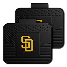 Officially Licensed MLB 2-Piece Utility Mat Set - San Diego Padres
