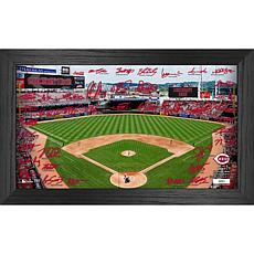 Officially Licensed MLB 2021 Signature Field Photo Frame - Cincinnati