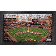 Officially Licensed MLB 2021 Signature Field Photo Frame - Baltimore