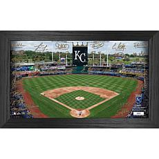 Officially Licensed MLB 2021 Signature Field Photo Frame - Kansas City