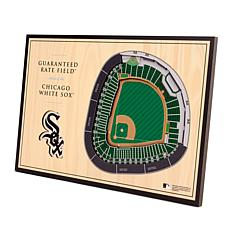 Officially-Licensed MLB 3-D StadiumViews Display - Chicago White Sox