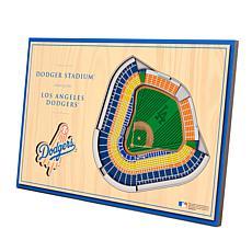 Officially-Licensed MLB 3-D StadiumViews Display - Los Angeles Dodgers