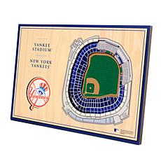 Officially-Licensed MLB 3-D StadiumViews Display - New York Yankees