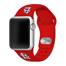 Officially Licensed MLB 38/40mm Apple Watch Band - St. Louis Cardinals