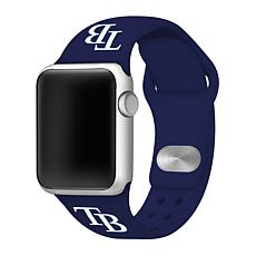 Officially Licensed MLB 38/40mm Apple Watch Band - Tampa Bay Rays
