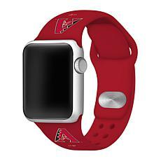 Officially Licensed MLB 38/40mm Silicone Apple Watchband -Diamondbacks