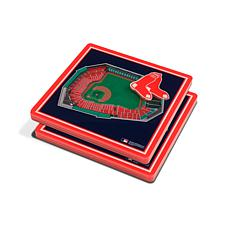 Officially Licensed MLB 3D StadiumViews Coaster Set - Boston Red Sox