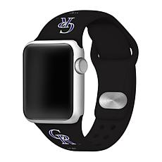 Officially Licensed MLB 42/44mm Apple Watch Band - Cleveland Indians