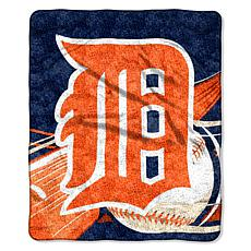 "Officially Licensed MLB 50"" x 60"" Sherpa Throw by North"