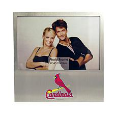 Officially Licensed MLB Aluminum Picture Frame - St. Louis Cardinals