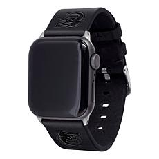Officially Licensed MLB Apple Watch Black Leather Band 42/44mm-Orio...