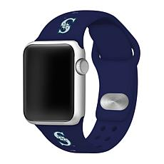 Officially Licensed MLB Apple Watchband 42/44mm - Seattle Mariners