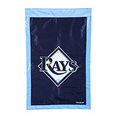 Officially Licensed MLB Applique House Flag - Tampa Bay Rays