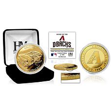 Officially Licensed MLB Arizona Diamondbacks Stadium Gold Mint Coin