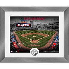 Officially Licensed MLB Art Deco Silver Coin Photo Mint - Cleveland