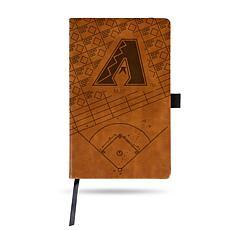 Officially Licensed MLB Brown Notepad - Arizona Diamondbacks