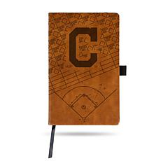 Officially Licensed MLB Brown Notepad - Cleveland Indians