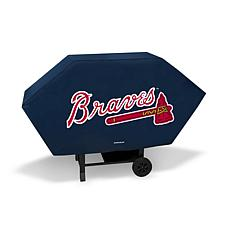 Officially Licensed MLB Executive Grill Cover - Braves
