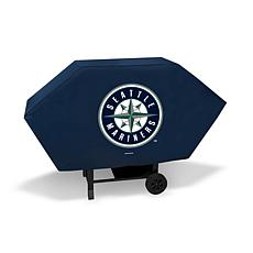 Officially Licensed MLB Executive Grill Cover - Mariners