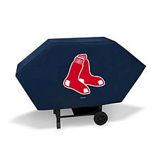 Officially Licensed MLB Executive Grill Cover - Red Sox