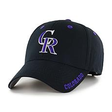 Officially Licensed MLB Frost Adjustable Hat  - Colorado Rockies