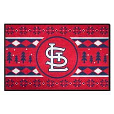 Officially Licensed MLB Holiday Sweater Mat - St. Louis Cardinals