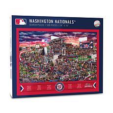 Officially Licensed MLB Joe Journeyman Puzzle - Washington Nationals