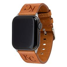 Officially Licensed MLB Leather Band for Apple Watch - Kansas City