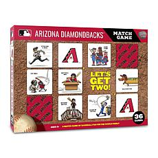 Officially Licensed MLB Licensed Memory Match Game - Arizona