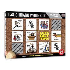 Officially Licensed MLB Licensed Memory Match Game - Chicago White Sox
