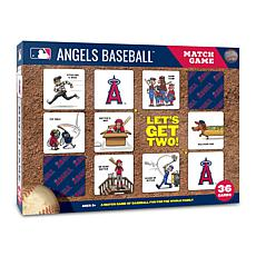 Officially Licensed MLB Licensed Memory Match Game - LA. Angels