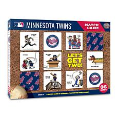 Officially Licensed MLB Licensed Memory Match Game - Minnesota Twins