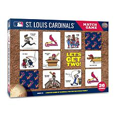 Officially Licensed MLB Licensed Memory Match Game - St. Louis