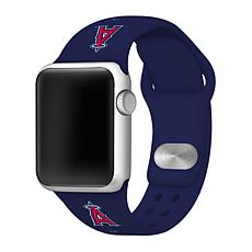 Officially Licensed MLB Los Angeles Angels Apple Watchband - 42mm/44mm